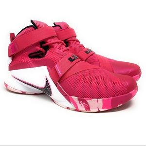 Nike Lebron Soldier 9 Think Pink  Size11